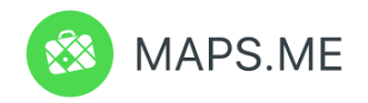 Maps.Me Green Logo