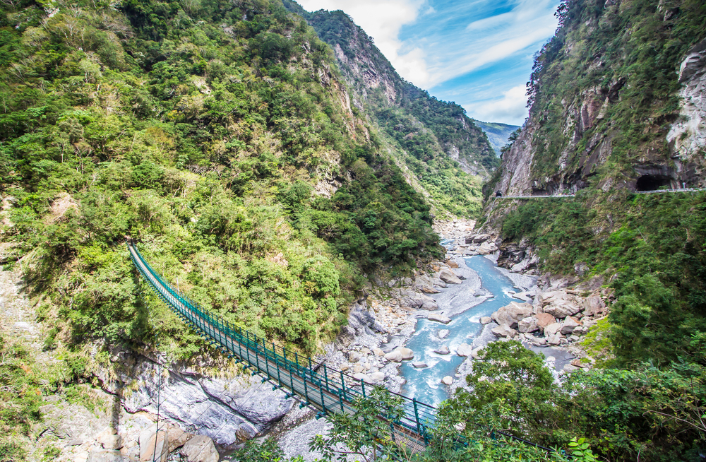 Scenic view at Taroko National Park (Taroko Gorge) in Hualien