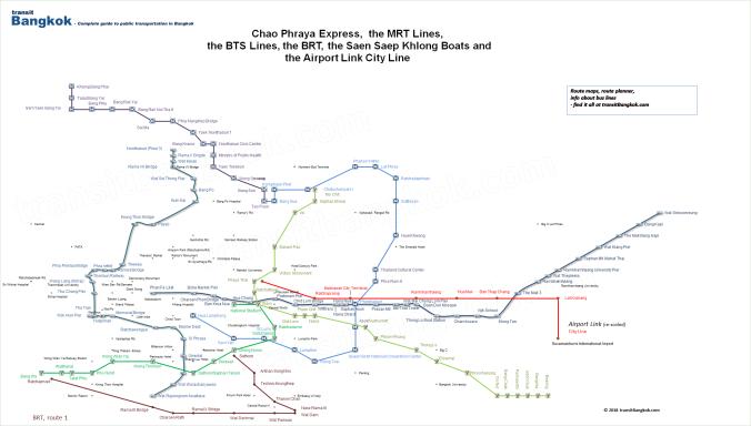 Bangkok's MRT lines